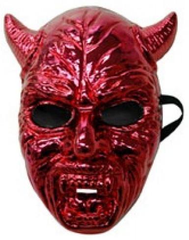Rood duivelsmasker voor volwassenen