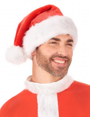 Rode kerstmuts voor volwassenen-2