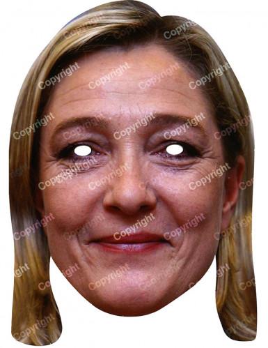 Masker van Marine Le Pen