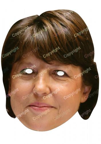 Masker van Martine Aubry