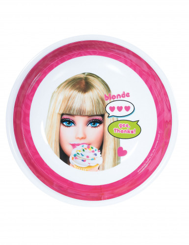 Diep bord in melamine met Barbie™