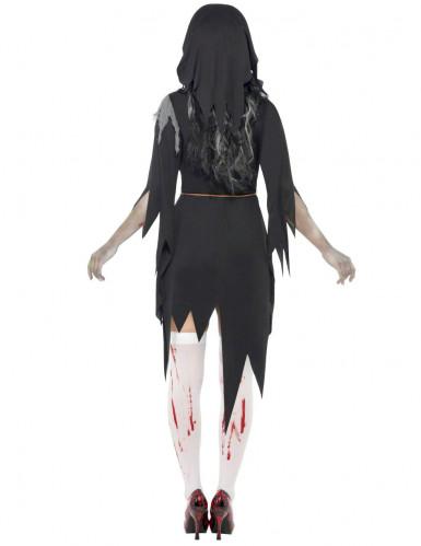 Religieus halloweenzombiekostuum voor dames-1