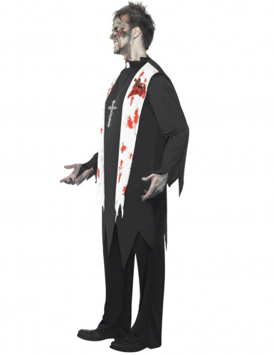 Religieus zombie kostuum voor mannen-1
