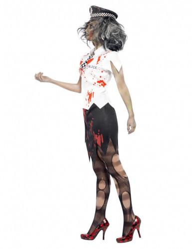 Zombiepolitiepak voor dames (halloween)-1