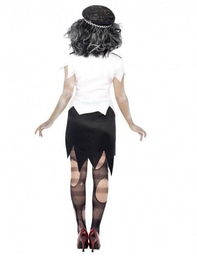 Zombiepolitiepak voor dames (halloween)-2
