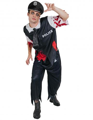 Zombie agenten kostuum voor mannen (Halloween)