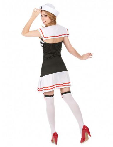 Retro matrozen kostuum voor vrouwen -1
