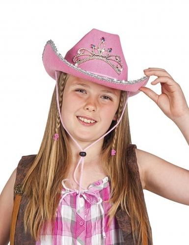 Cowgirlhoed in prinsessenuitvoering voor meisjes