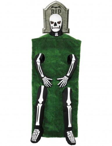 Skelet in een graf kostuum voor volwassenen