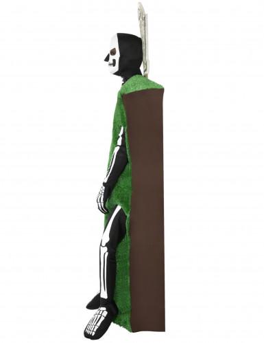 Skelet in een graf kostuum voor volwassenen-1