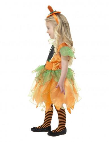 Pompoenfeekostuum voor meisjes-2