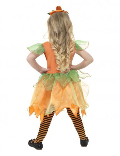 Pompoenfeekostuum voor meisjes-1