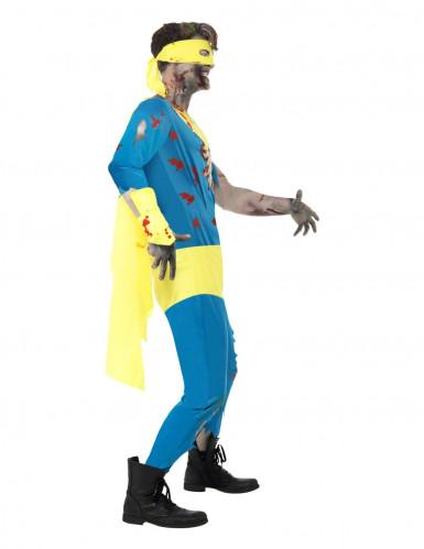 Super held zombie kostuum voor heren Halloween kleding-2