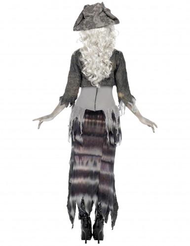 Kostuum van een monsterpiraat voor volwassenen Halloween-1