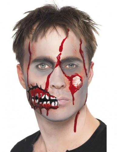 Zombiemake-up voor volwassenen Halloween-3