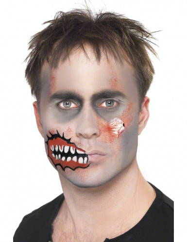 Zombiemake-up voor volwassenen Halloween-2