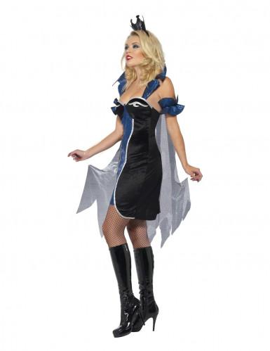 Halloweenvermomming als koningin van de onderwereld voor vrouwen-2