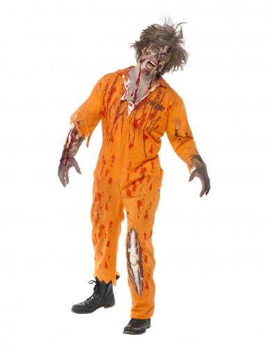 Halloweenset met zombieschmink voor volwassenen-1