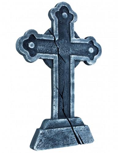 Halloweenversiering in de vorm van een grafsteen