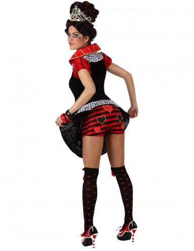 Hartenvrouw kostuum voor volwassenen-1