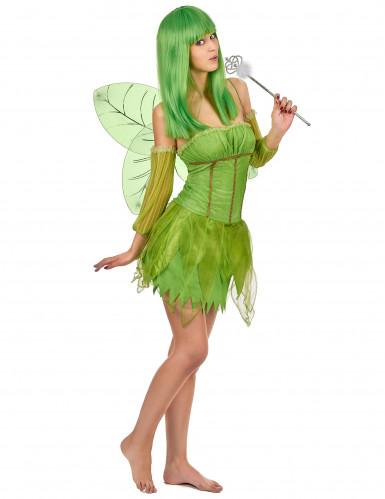 Groene fee kostuum voor vrouwen