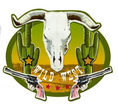 Westernmuurdecoratie Wild West