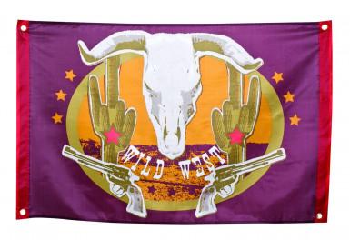 Vlag Wild west