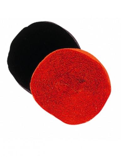 Rol zwart crêpepapier