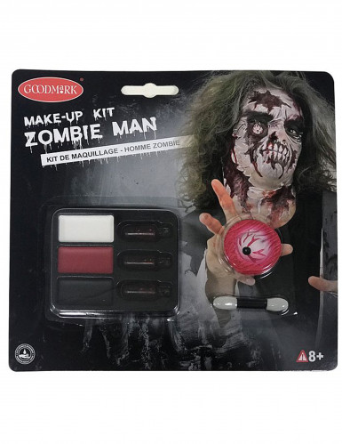 Zombiemake-up kit voor Halloween voor volwassenen-1