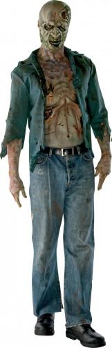 Kostuum van een ontbonden zombie van The Walking Dead™ voor volwassenen