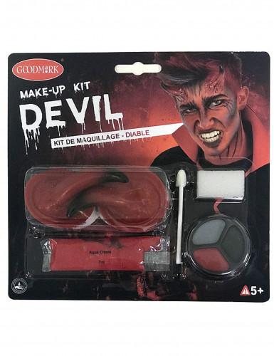 Halloweendemonmake-up kit voor volwassenen-4