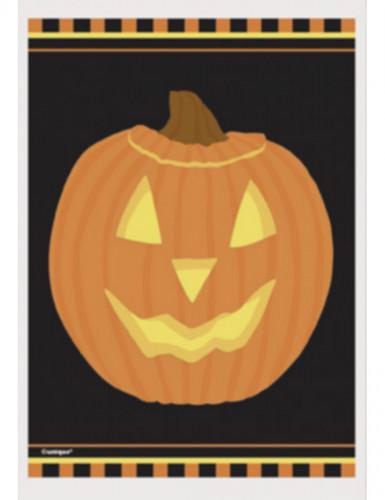 50 Halloweensnoepzakjes met pompoenen