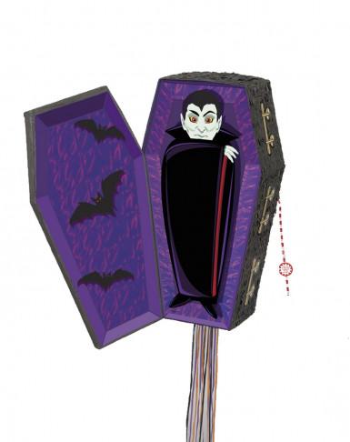 Halloweenpiñata in de vorm van een vampierendoodskist