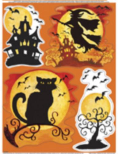 Halloween raamdecoratie stickers