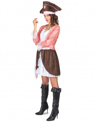 Roze piratenpak voor vrouwen-2