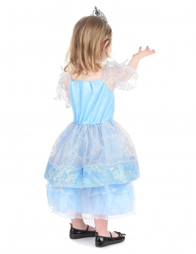 Prinsess Assepoester kostuum voor meisjes-2