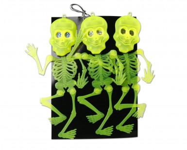 Decoratie hangskelet Halloween