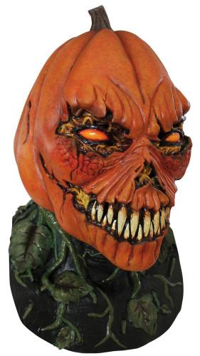 Angstaanjagend pompoenmasker voor Halloween