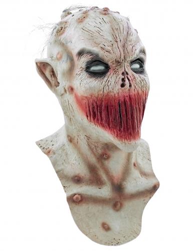 Masker met een dichtgenaaide mond voor volwassenen Halloween