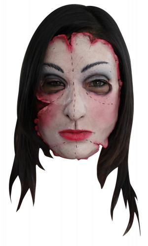 Masker van een geopereerde moordenares voor volwassenen Halloween