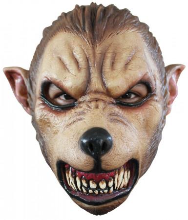 Masker van een bloeddorstige wolf voor volwassenen Halloween