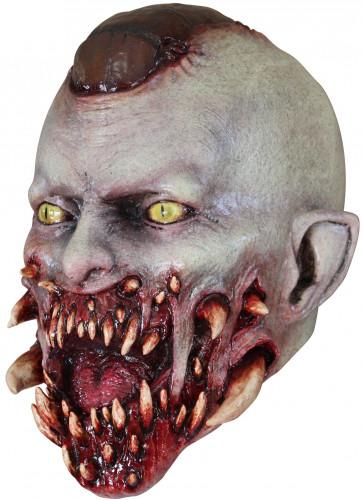 Masker van een bloedend monster voor volwassenen Halloween