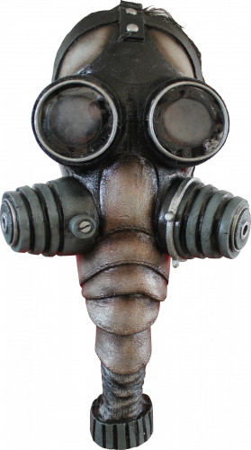 Latex gasmasker voor volwassenen