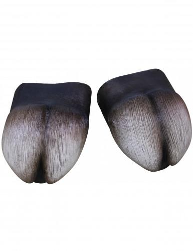 Overschoenen in de vorm van klompen voor volwassenen Halloween