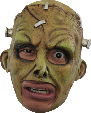 Masker van een groen monster voor volwassenen Halloween