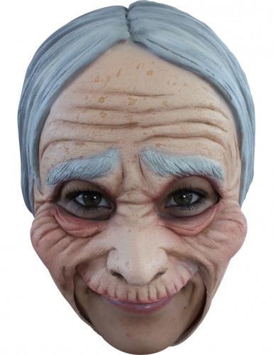 Masker van een oude vrouw voor volwassenen Halloween
