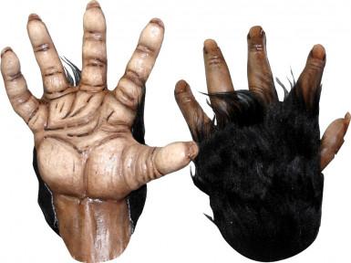 Bruine gorillahandschoenen