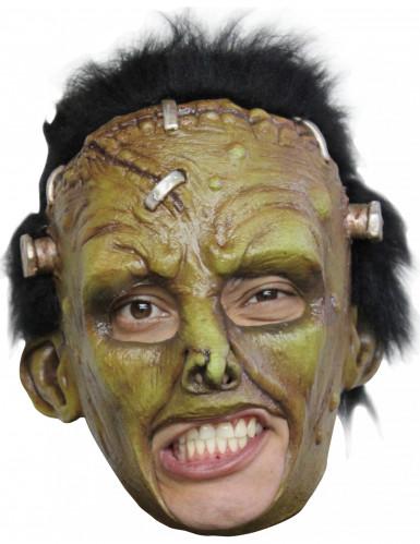 Groen eng monster masker voor volwassenen