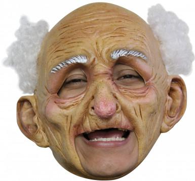 Masker van een oude man voor volwassenen Halloween