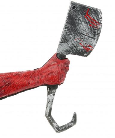 Rode duivel handschoenen voor volwassenen -1